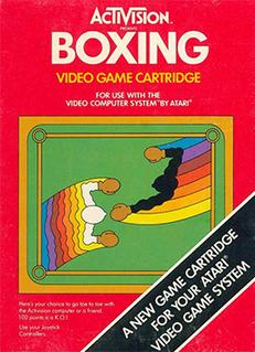 <i>Boxing</i> (Atari 2600) 1980 boxing video game