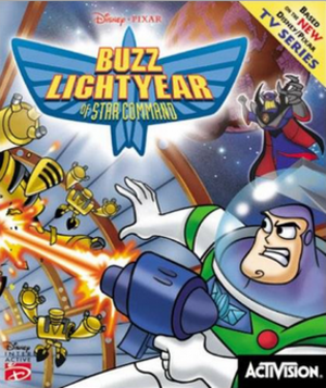 Buzz Lightyear of Star Command (video game) - Image: Buzz Lightyearof Star Command Video Game Cover