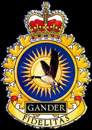 CFB Gander - Image: CFB Gander 9 Wing crest