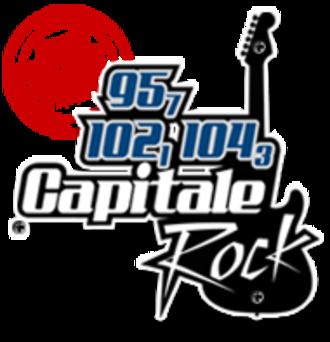 CHGO-FM - Image: CHGO Capitale Rock 104.3 logo
