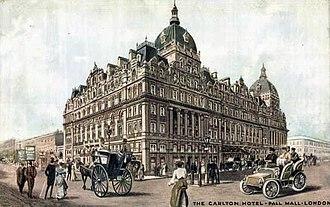 Carlton Hotel, London - The Carlton, 1905