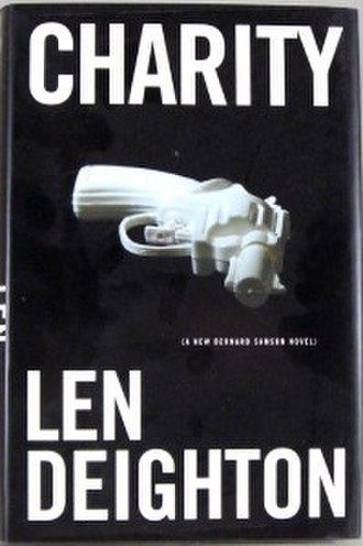 Charity (novel) - First edition cover  (publ. HarperCollins)