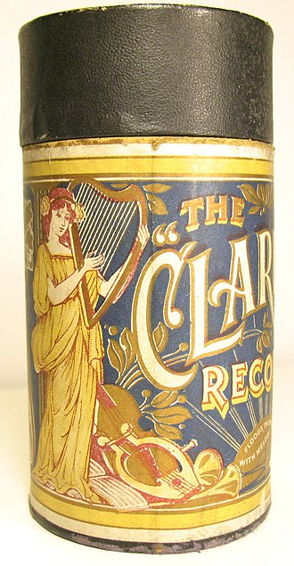 Stanley Kirkby - A Clarion cylinder box.