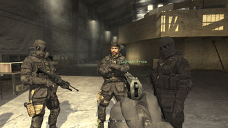Call of Duty 4: Modern Warfare - A scene from Modern Warfare displaying the game's graphics quality.