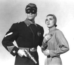 Commando Cody: Sky Marshal of the Universe - Commando Cody (Judd Holdren) and Joan Gilbert (Aline Towne)