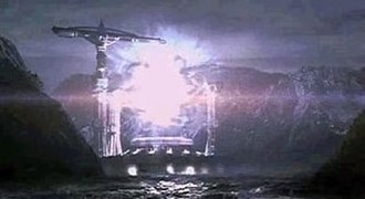 Contact (1997 American film) - The film's (second) Machine in operation at Hokkaidō, Japan