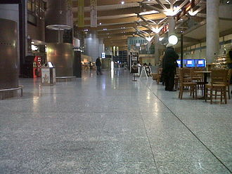 Cork Airport - View of the arrivals hall