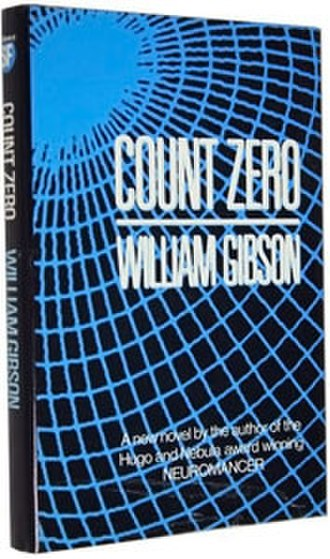 Count Zero - Cover of first edition (hardcover)