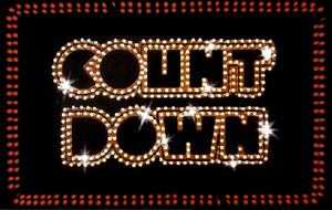 Music of Melbourne - The Countdown logo, a weekly music television show broadcast from Melbourne Australia-wide by the ABC from 1974-1987