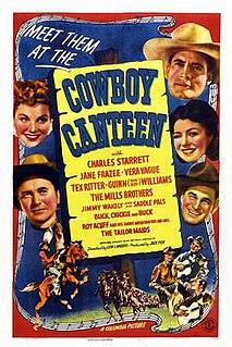 <i>Cowboy Canteen</i> 1944 film by Lew Landers