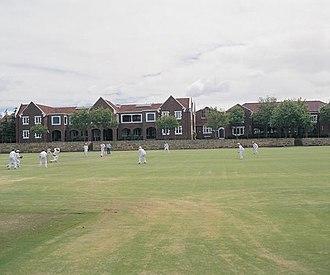 Wesley College (Western Australia) - Image: Crickfie