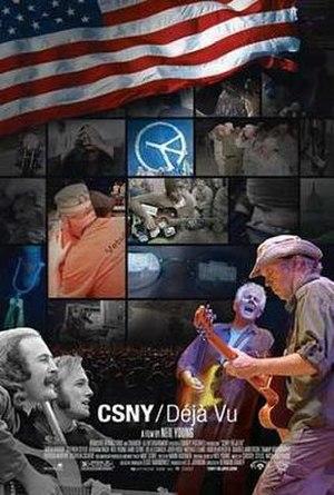CSNY/Déjà Vu - Theatrical release poster