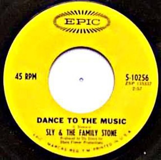 Dance to the Music (song) - Image: Dance to the music sly sing