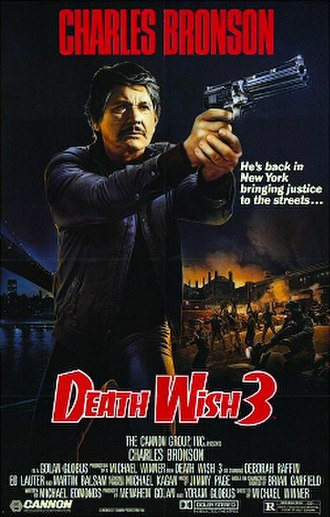 Death Wish 3 - Theatrical release poster