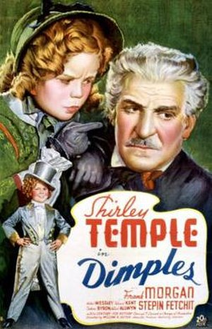 Dimples (1936 film) - Theatrical poster