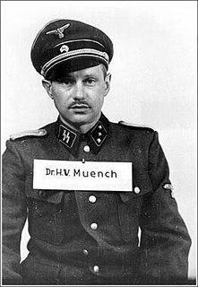 Hans Münch German physician