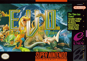 E.V.O.: Search for Eden - North American cover art