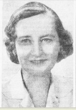 Elizabeth Irving - Elizabeth, Lady Brunner in 1953