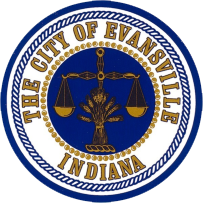 Official seal of Evansville, Indiana