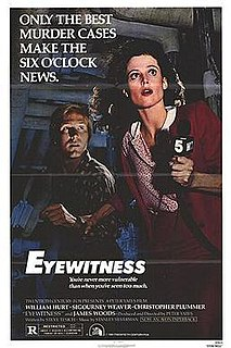 <i>Eyewitness</i> (1981 film) 1981 film by Peter Yates