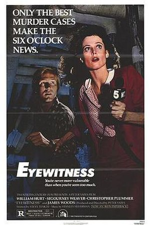 Eyewitness (1981 film) - Theatrical release poster