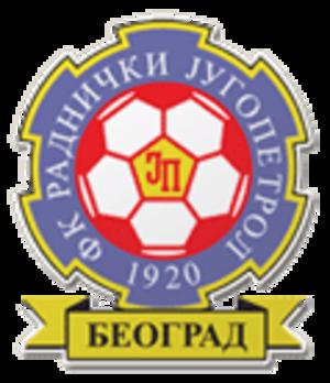 FK Radnički Beograd - Image: FK Radnički Jugopetrol