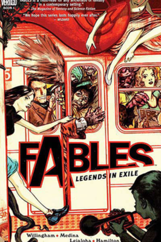 Fables (comics) - Cover page of Legends in Exile