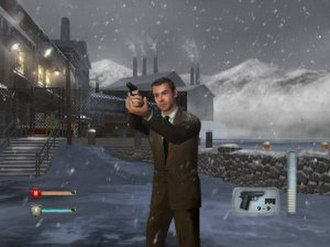 From Russia with Love (film) - A still from the From Russia with Love video game.