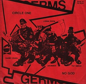 Lexicon Devil - Image: Germs Lexicon Devil EP redsleeveback