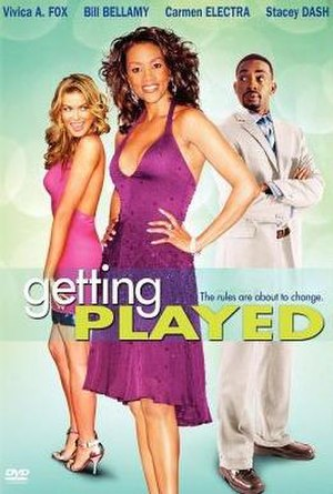 Getting Played - DVD Cover of Getting Played