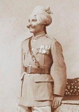 Gobind Singh (VC) - Image: Gobind Singh VC