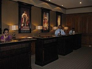 Grand Hotel (Nuwara Eliya) - Reception, Grand Hotel Nuwara Eliya