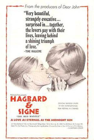 Hagbard and Signe - Film poster