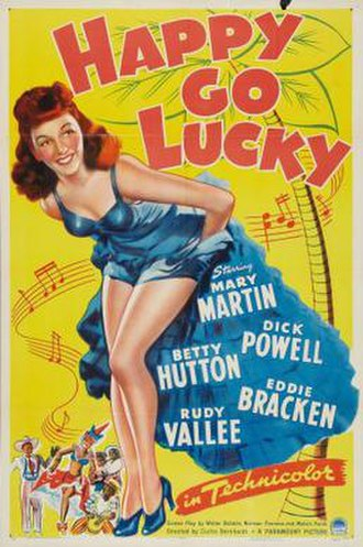 Happy Go Lucky (1943 film) - Theatrical release poster