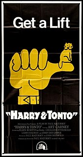 <i>Harry and Tonto</i> 1974 film by Paul Mazursky