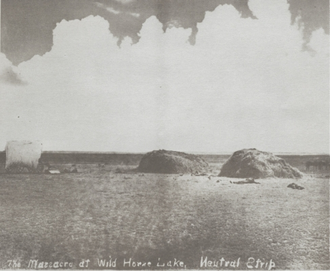 Hay Meadow massacre - The site of the massacre