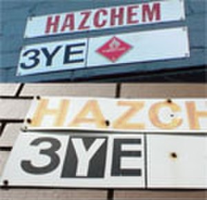 Hazchem - Comparison denoting the difference between PPE deployment with 3YE chemicals