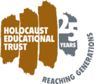 Holocaust Educational Trust - HET 25th Anniversary Logo