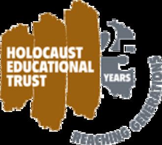 Holocaust Educational Trust - HET 25th Anniversary Logo