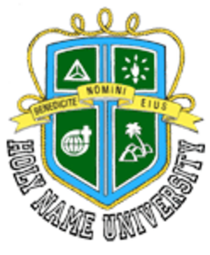 Holy Name University - Image: Holy Name University seal