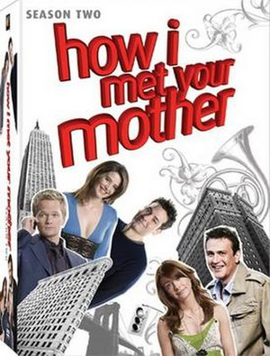 How I Met Your Mother (season 2) - Image: How I Met Your Mother Season 2 DVD Cover