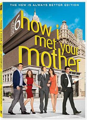 How I Met Your Mother (season 6) - Image: How I Met Your Mother Season 6 DVD Cover Art