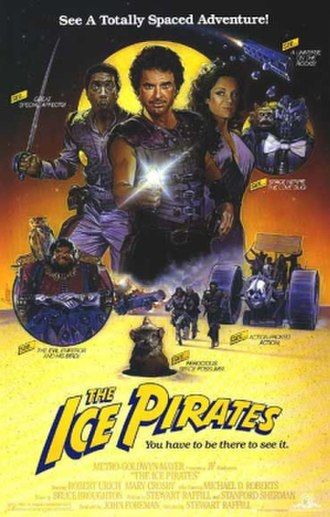 The Ice Pirates - Theatrical release poster by Steven Chorney