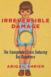 <i>Irreversible Damage</i> 2020 book by Abigail Shrier