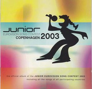 Junior Eurovision Song Contest 2003 - Image: JESC 2003 album cover