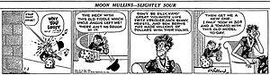 Moon Mullins - Frank Willard's Moon Mullins (March 3, 1942)