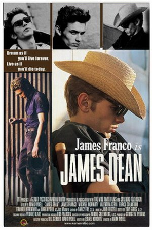 James Dean (2001 film) - Promotional poster