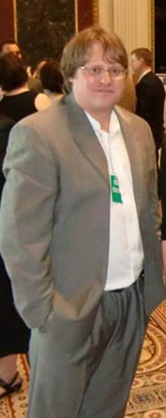 Jean-Claude Bradley - Bradley at The White House - June 2013