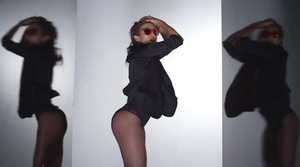 "Booty (song) - Lopez as her alter-ego ""Roxy"" in the ""Booty"" music video"