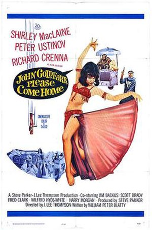 John Goldfarb, Please Come Home! - 1965 Theatrical Poster